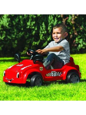 Педальная Гоночная машинка Смарт Dolu.. Цвет: красный