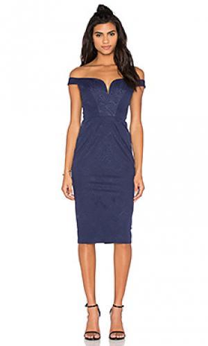 Платье lucia Elle Zeitoune. Цвет: синий
