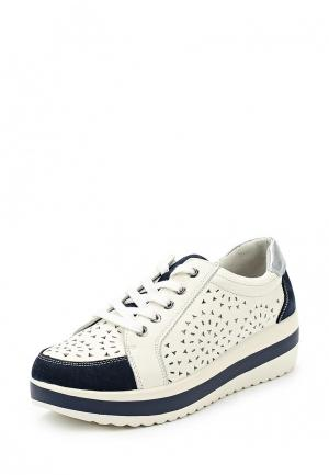 Ботинки La Grandezza. Цвет: белый