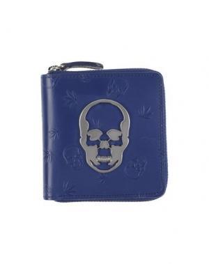 Бумажник LUCIEN PELLAT-FINET. Цвет: темно-синий