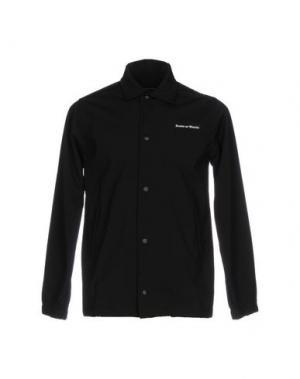 Куртка RAISED BY WOLVES. Цвет: черный