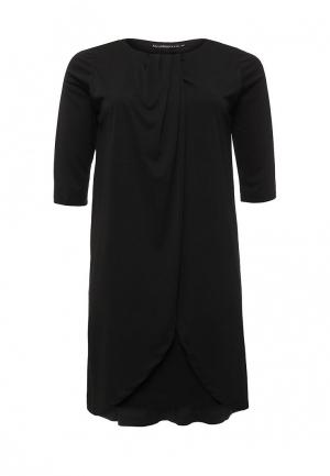 Платье Bestia Donna. Цвет: черный