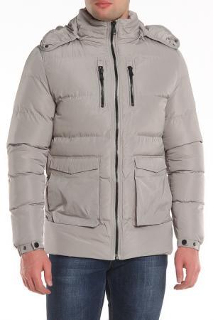 Куртка DISSIDENT. Цвет: серый