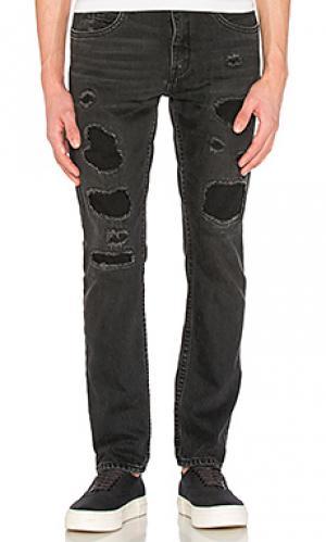 Mr 87 destroy jeans Helmut Lang. Цвет: none