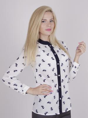 Блуза ELNY. Цвет: белый
