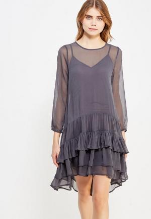 Платье Vero Moda. Цвет: серый