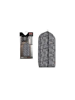 Чехол для одежды объемный, большой,  JAPANESE BLACK VALIANT. Цвет: черный