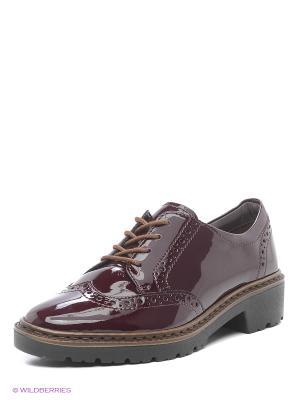 Туфли ARA. Цвет: бордовый