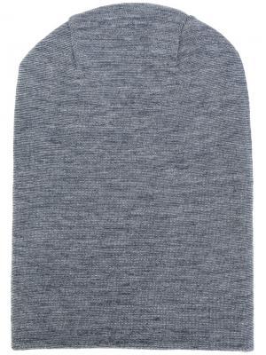 Классический трикотажный шарф S.N.S. Herning. Цвет: синий