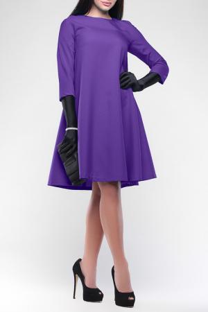 Платье свободного кроя Laura Bettini. Цвет: фиалковый