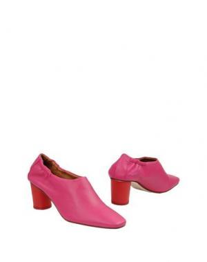 Ботинки MIISTA. Цвет: фуксия