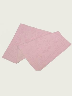Коврик ARLONI. Цвет: бледно-розовый