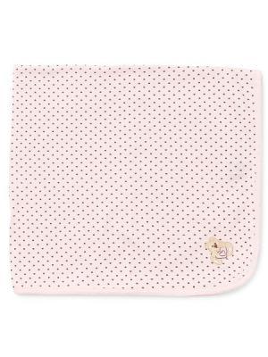 Одеяло Розовый медвежонок Little Me. Цвет: розовый