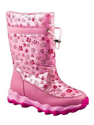 Дутики ТОМ.М. Цвет: розовый