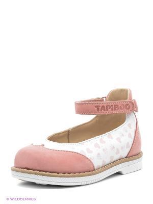 Туфли TAPiBOO. Цвет: розовый