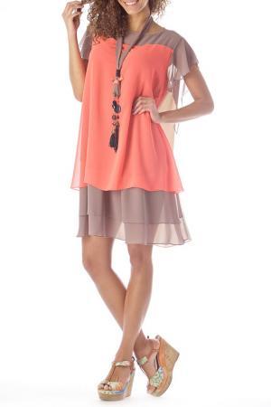 Платье ZEDD. Цвет: мультицвет