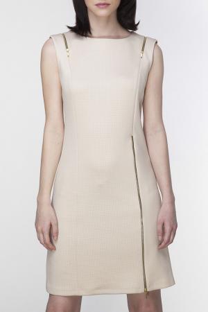 Платье Ambigante. Цвет: бежевый
