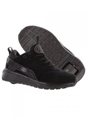 Роликовые кроссовки Heelys Force. Цвет: черный