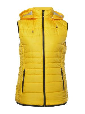 Жилет H&H.. Цвет: желтый