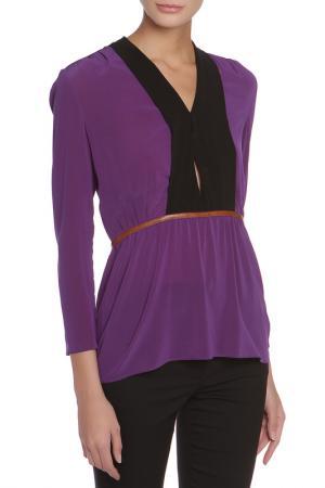 Блузка Prada. Цвет: фиолетовый