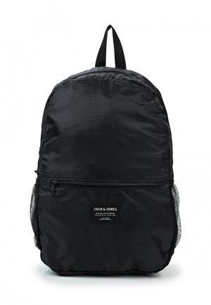 Рюкзак Jack & Jones. Цвет: черный