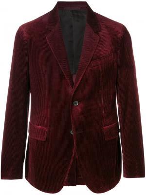 Классический пиджак Caruso. Цвет: красный