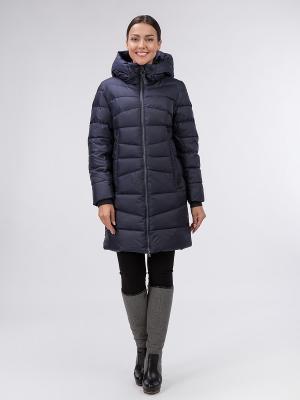 Пальто OSTRICH. Цвет: синий