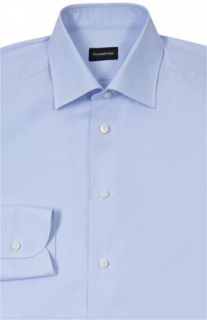 Рубашка Ermenegildo Zegna. Цвет: синий