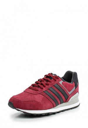 Кроссовки adidas Neo. Цвет: бордовый
