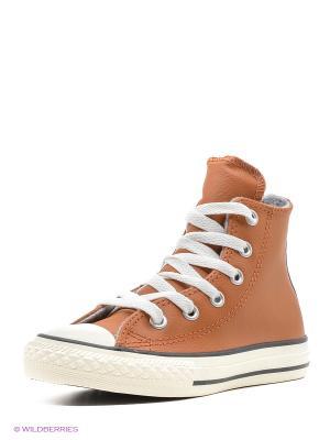Кеды Chuck Taylor All Star Converse. Цвет: коричневый