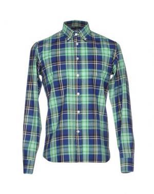 Pубашка BRANCACCIO C.. Цвет: светло-зеленый