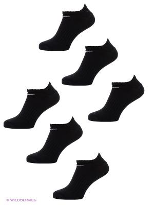 Носки 6PPK NON-CUSHION NO SHOW Nike. Цвет: черный