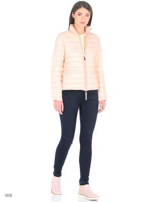 Куртка Oltre. Цвет: розовый