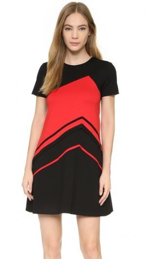 Платье Cheer Lisa Perry. Цвет: черный/красный