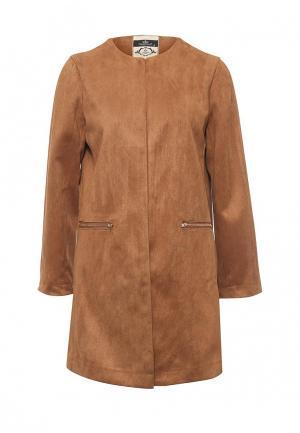 Пальто Coco Nut. Цвет: коричневый