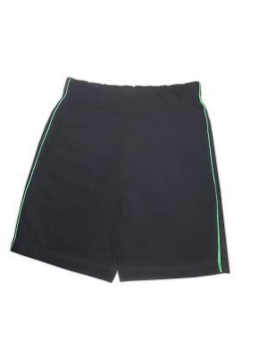 Шорты UMKA. Цвет: черный, зеленый