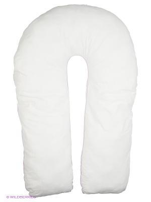 Подушка для беременных Здоровье и комфорт. Цвет: черный, белый