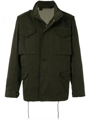 Куртка Field Ten C. Цвет: зелёный