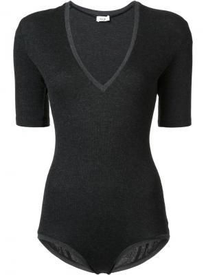 Bedford bodysuit Alix. Цвет: чёрный