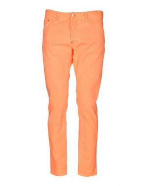 Джинсовые брюки DSQUARED2. Цвет: оранжевый