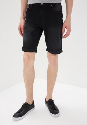 Шорты джинсовые Modis. Цвет: черный