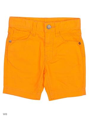 Бермуды United Colors of Benetton. Цвет: оранжевый
