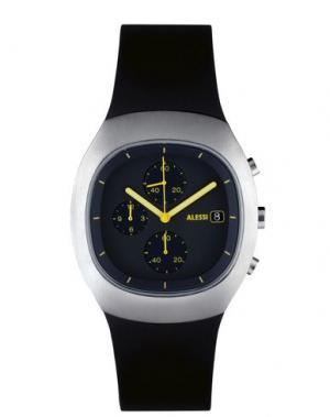 Наручные часы ALESSI. Цвет: черный