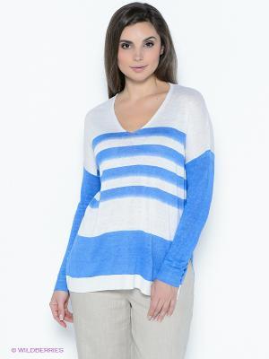Пуловер Sinequanone. Цвет: голубой, белый