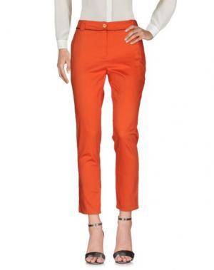 Повседневные брюки PAUSE CAFÉ. Цвет: оранжевый