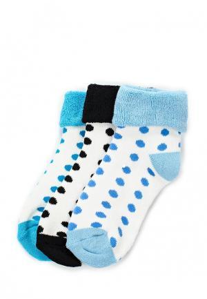 Комплект носков 3 пары ТВОЕ. Цвет: разноцветный