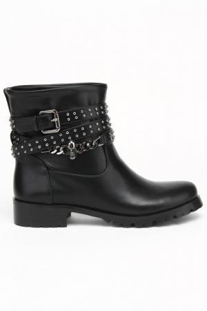 Ботинки KARANFIL. Цвет: черный