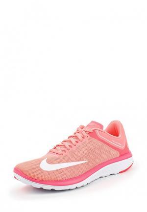 Кроссовки Nike. Цвет: розовый