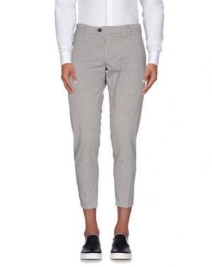 Повседневные брюки TAKESHY KUROSAWA. Цвет: светло-серый
