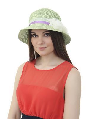 Шляпа Gusachi. Цвет: зеленый, голубой, сиреневый, белый